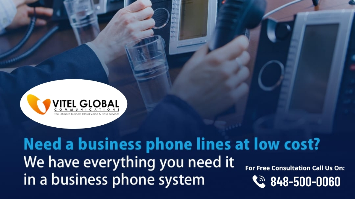 Business Phone Lines at low price